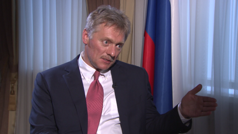 """Peskow: Waffe ziehen und Forderungen stellen – """"USA benehmen sich wie im Wilden Westen"""""""