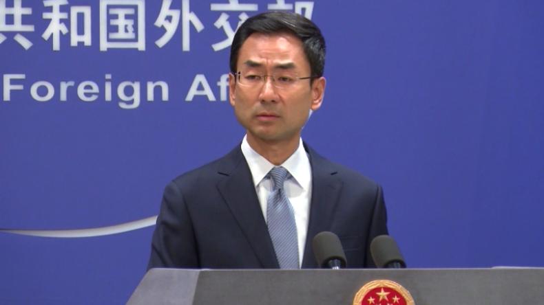 China über USA: Heuchler, die unter dem Deckmantel der Demokratie nur böse Absichten verfolgen