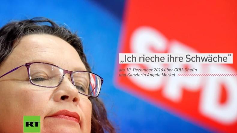 """Ausgewählte Zitate von Andrea Nahles: """"Hausfrau oder Bundeskanzlerin"""""""