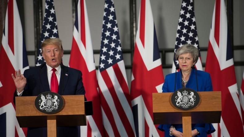 Staatsbesuch in Großbritannien: Trump beleidigt öffentlich britische Politiker (Video)