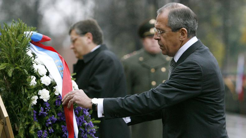 Gastbeitrag von Sergei Lawrow: Der Zweite Weltkrieg und die Verdrehungen des Westens