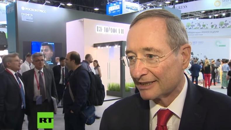 """WKO-Ehrenpräsident Christoph Leitl: """"Russen und Österreicher verstehen sich im Herzen"""""""