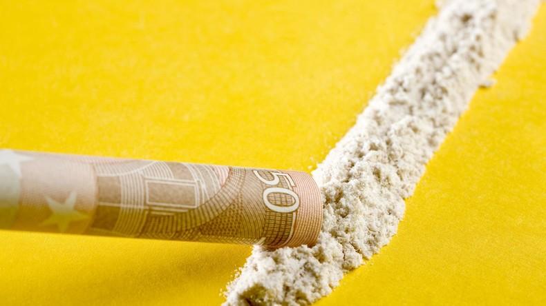 EU-Drogenbericht: Rekord beim Abfangen von Kokain - Deutschland mit den zweitmeisten Drogentoten