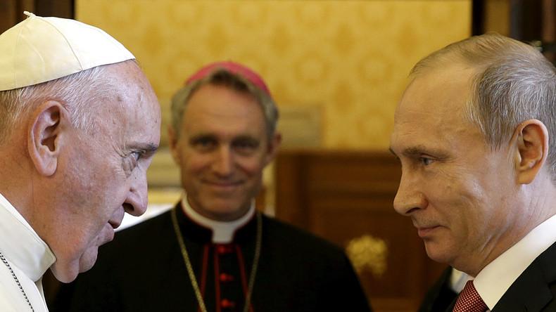 Kreml bestätigt: Putin wird sich während Italienreise mit dem Papst treffen