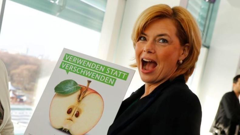 Shitstorm gegen Landwirtschaftsministerin Julia Klöckner wegen Schleichwerbung für Nestlé