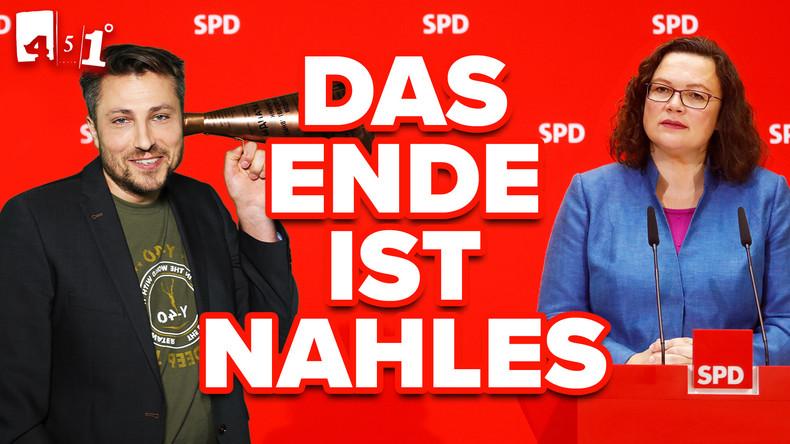 Endstation SPD | Bilderberg-Aluhut-Festival| Rentnerwahlverbot | 451 Grad