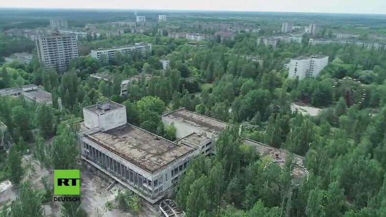 Exklusiv-LIVE: Sperrzone von Tschernobyl und die Geisterstadt Prypjat