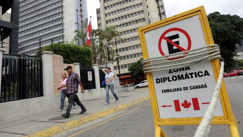 Wegen Einmischung und Einflussnahme: Kanadische Diplomaten in Caracas nicht willkommen (Video)