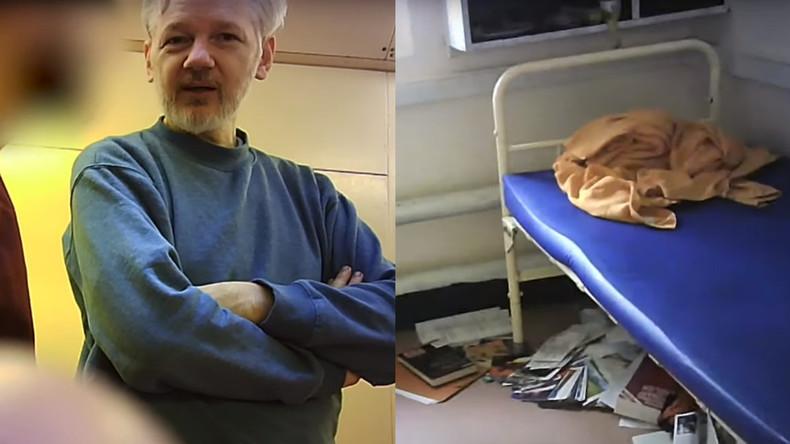 Exklusiv: Erstes Video von Julian Assange aus dem Belmarsh-Gefängnis