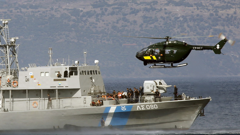 Griechische Küstenwache zerschlägt Schleuserring