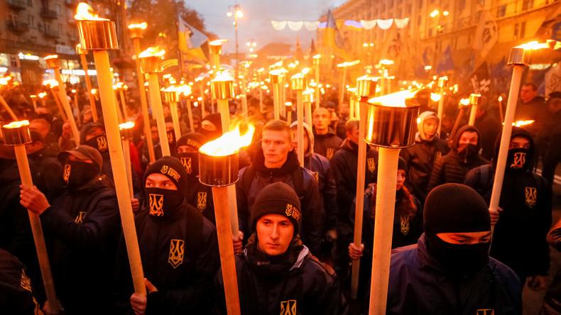 """""""Ukraine über alles!"""" - Nationalisten in der Ukraine bilden Koalition für Parlamentswahlen"""