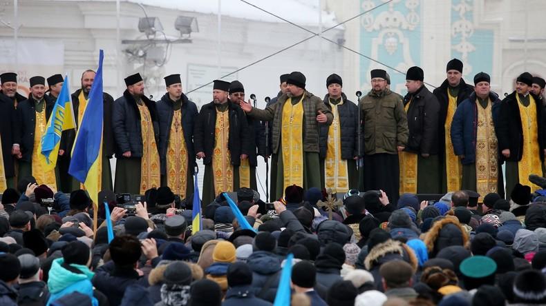 Nur vier Prozent ukrainischer Pfarreien der neuen orthodoxen Kirche beigetreten