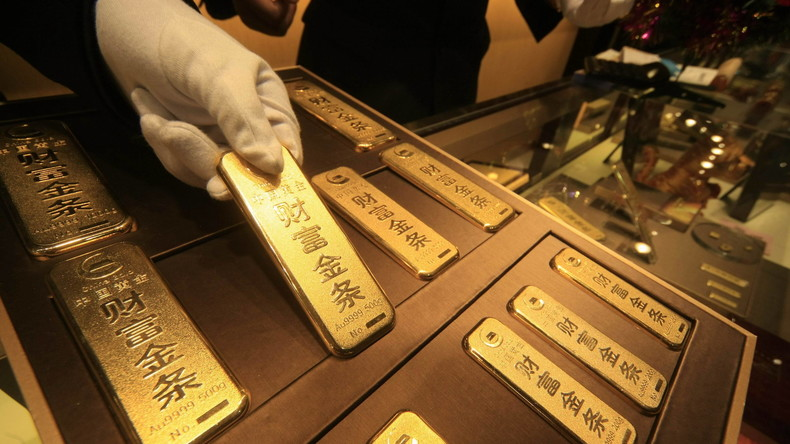 Peking antwortet auf Washingtons Zölle mit massiven Goldkäufen