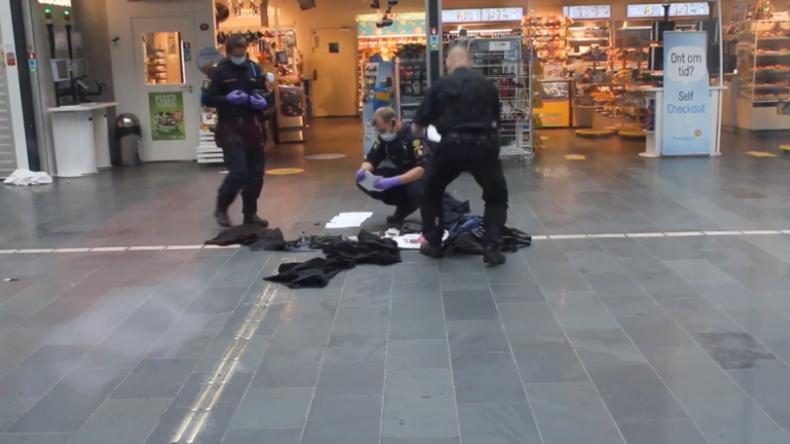 Schweden: Polizei schießt nach Bombendrohung auf Mann im Hauptbahnhof von Malmö