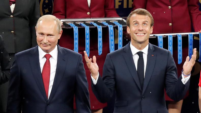 Macron will EU-Beziehungen mit Moskau unabhängig von NATO und USA machen