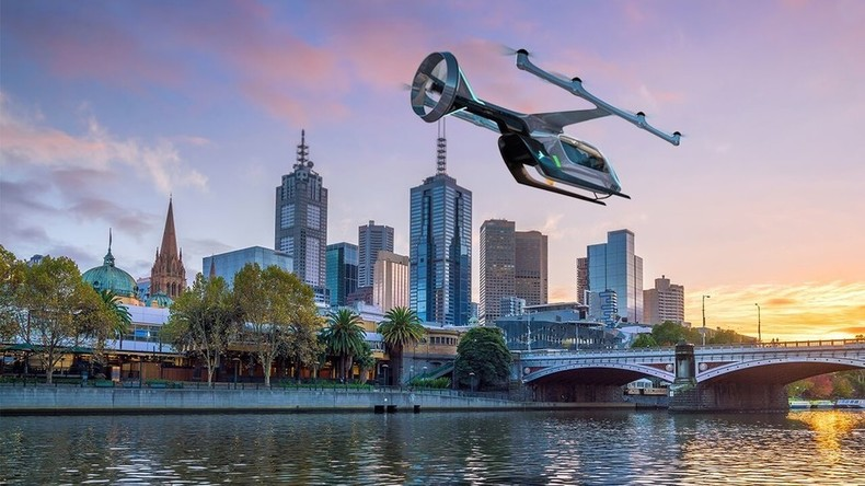 Australien: Ab 2023 sollen fliegende Taxis im Himmel von Melbourne zur Norm werden