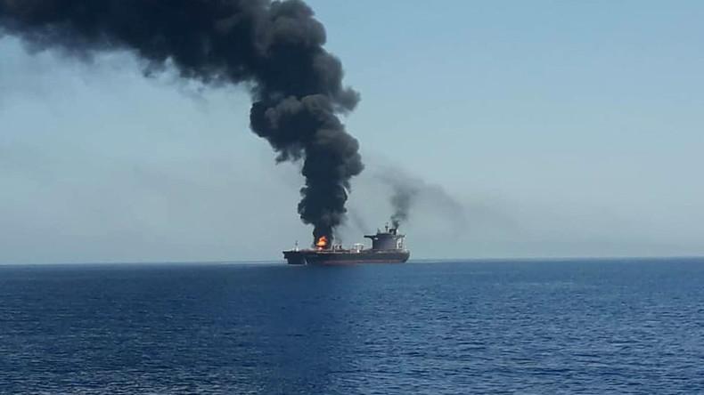 """""""Verdächtiger Zwischenfall"""": Reaktionen nach Angriffen auf Öltanker"""