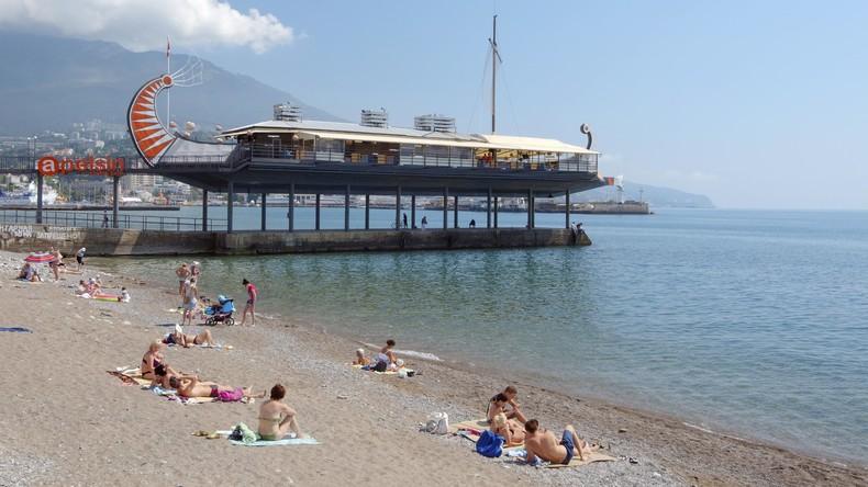 Die Krim, fünf Jahre danach: Reise in die 'Neuen Bundesländer' Russlands – Promenade in Jalta