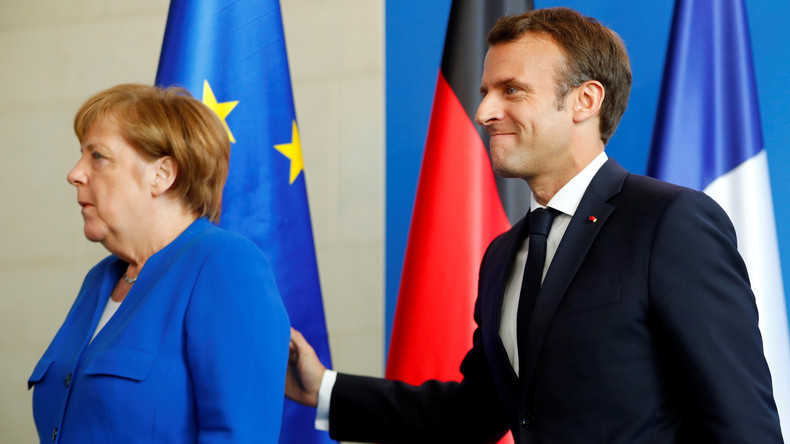 """""""Europa braucht Persönlichkeiten"""": Macron wirbt für Merkel als EU-Kommissionspräsidentin"""
