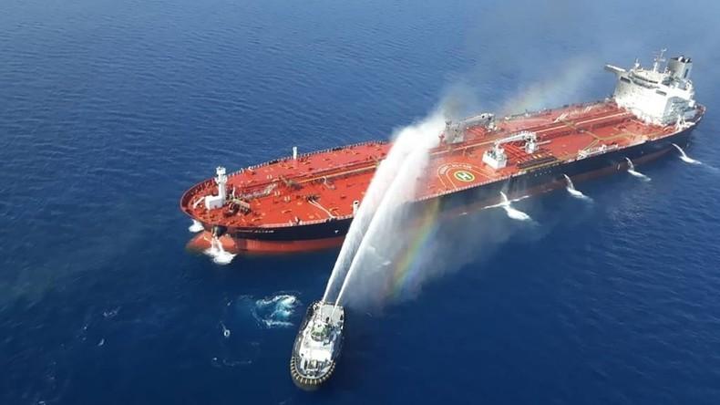 Pompeo: USA machen Iran für mutmaßlichen Angriff auf Tanker im Golf von Oman verantwortlich