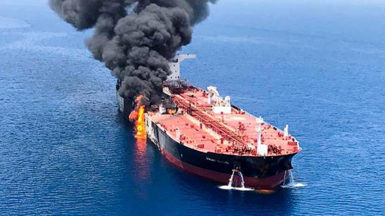 Anklage ohne Beweise: USA machen Iran für Angriffe auf Tanker verantwortlich (Video)