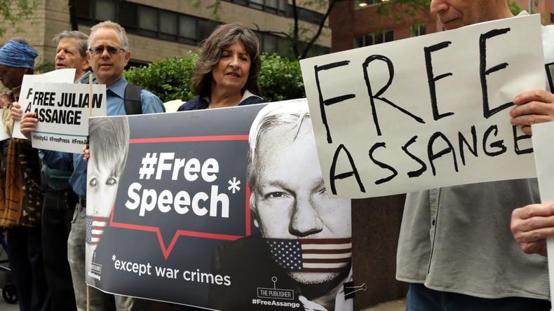 Julian Assange: Anhörung vor Gericht zur Auslieferung an die USA (Video)
