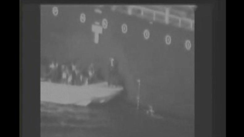 Unscharfes US-Video soll Schuld des Iran an Schiffsangriffen im Golf von Oman beweisen