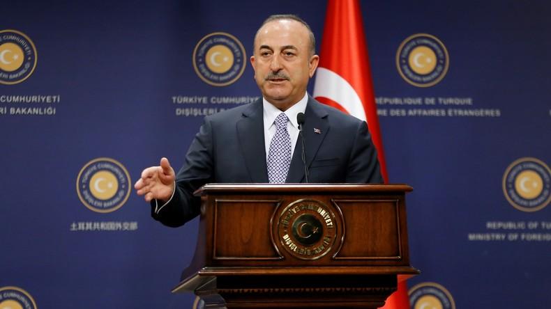 Nach US-Sanktionsdrohungen: Türkischer Außenminister droht USA mit Gegenmaßnahmen