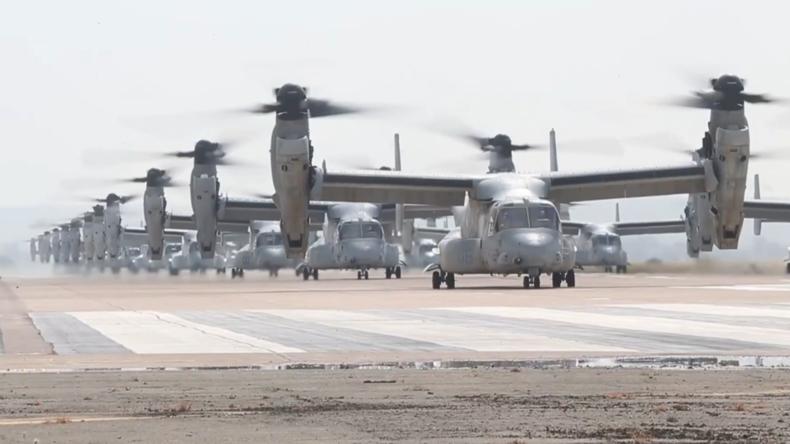 """""""Einschüchterungsversuch gegen wehrlose Staaten"""": US-Marine demonstriert Stärke"""