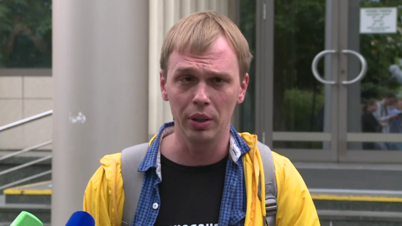 """""""Ich bekomme Panikattacken"""" – Golunow über seine Inhaftierung"""