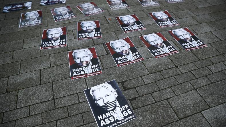 Auslieferung von Assange eine Warnung an Liberale, die an die US-amerikanische Demokratie glauben