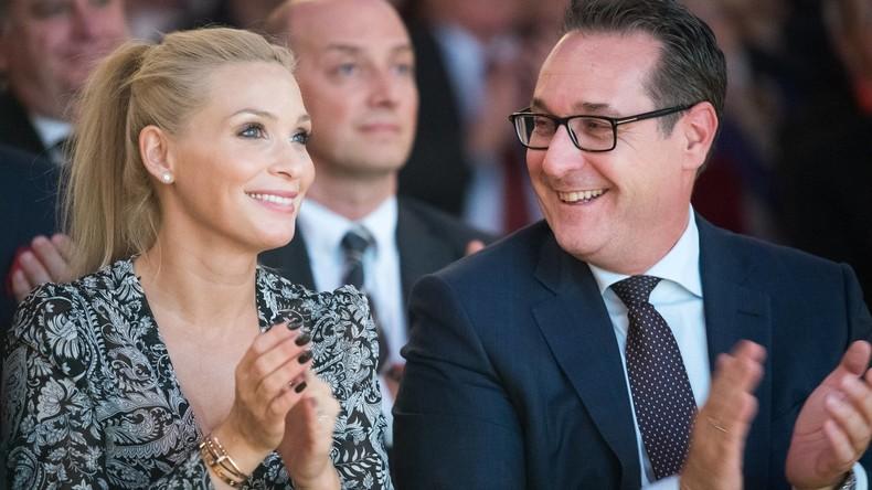 Österreich: Strache verzichtet auf EU-Mandat – Seine Frau tritt bei Nationalratswahl an