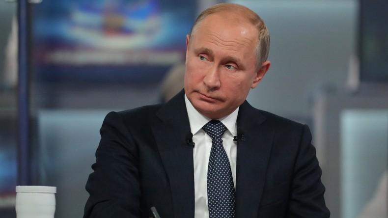 Vorankündigung für 20. Juni: Fragestunde mit Präsident Putin in deutscher Simultanübersetzung