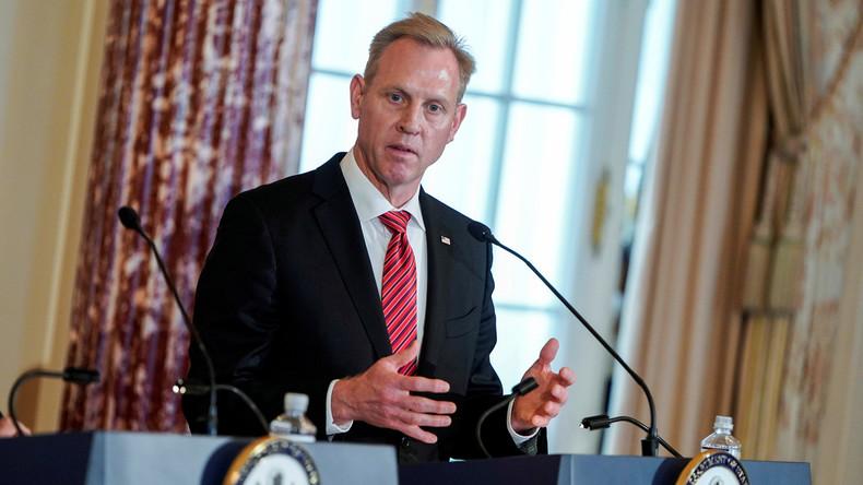 Patrick Shanahan zieht sich von Pentagon-Spitze zurück