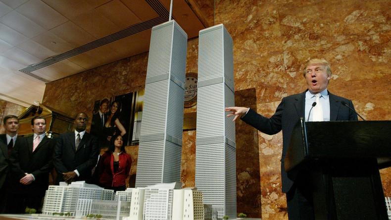 US-Präsident Donald Trump: Ich glaube, ich weiß, wer wirklich für 9/11 verantwortlich war