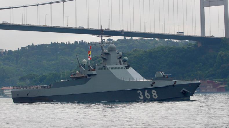 """""""Illegal besetzt"""": Spanien verlangt Rückgabe von Gibraltar - Russisches Marineschiff betankt"""
