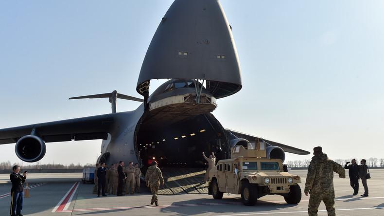 Im Wert von 250 Millionen Dollar: Pentagon kündigt weitere Militärhilfe für die Ukraine an