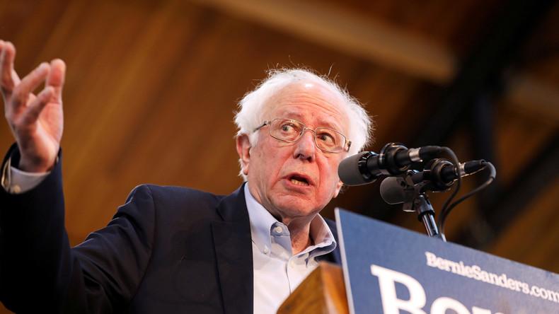 """US-Präsidentschaftskandidat Bernie Sanders: Krieg gegen Iran würde """"auf Lüge basieren"""""""