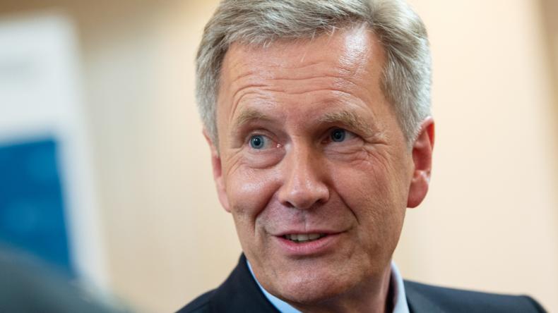 """Christian Wulff nennt Flüchtlingszuzug einen """"Glücksfall wie die deutsche Einheit"""""""