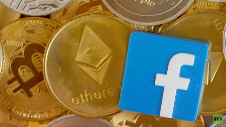 """""""Das Geld neu erfinden"""": Facebook drängt mit eigener Kryptowährung in globalen Markt (Video)"""