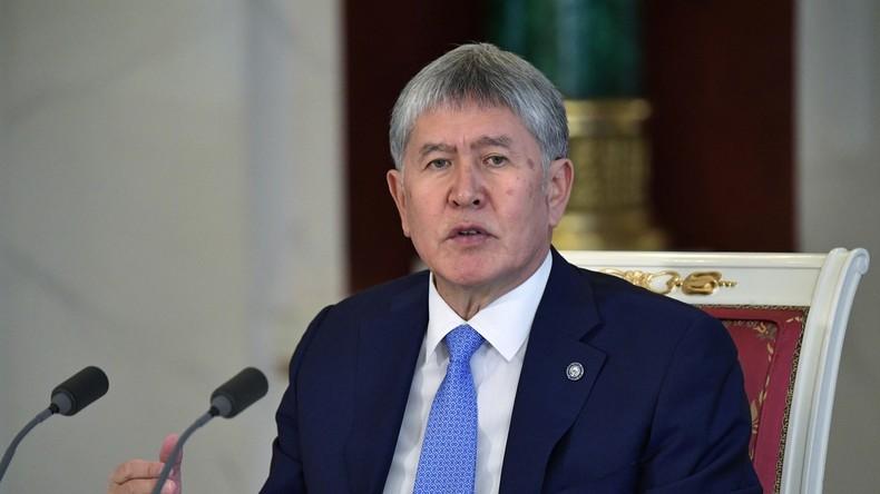 Kirgisisches Parlament will ehemaligem Präsidenten Atambajew Immunität entziehen