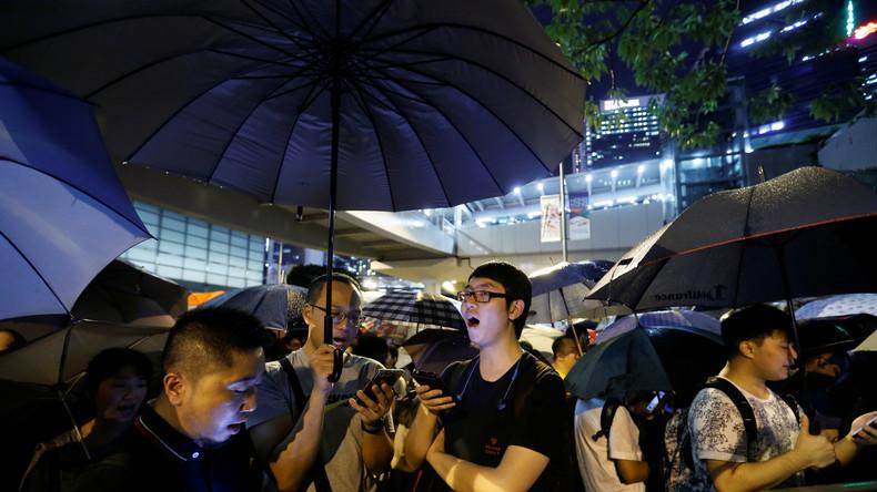 Hongkonger drohen mit weiteren Protesten, wenn Auslieferungsgesetz nicht ganz zurückgezogen wird