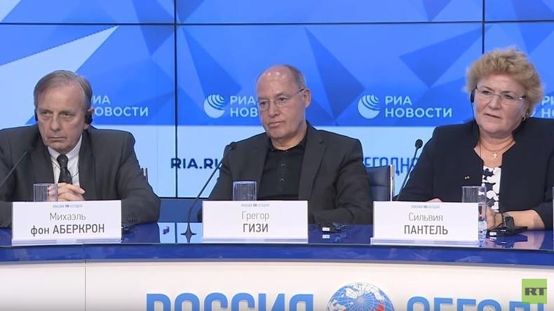Deutsche Medien toben nach Russland-Reise von Politikern: Journalisten-Klamauk auf Pressekonferenz