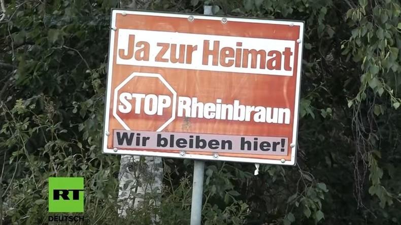 """""""Ja zur Heimat"""": Ein Dorf gegen die Braunkohle-Bagger"""