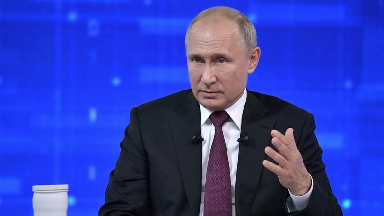 """Wladimir Putin über Amtskollegen Selenskij: """"Es ist eine Tragödie, keine Komödie"""""""