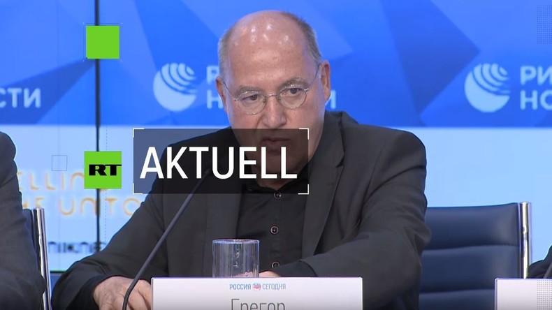 Gregor Gysi in Moskau über deutsch-russische Beziehungen: Wir brauchen mehr Mumm gegen US-Einfluss