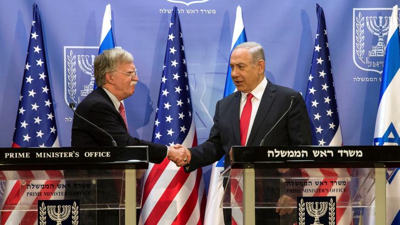 """US-Sicherheitsberater John Bolton warnt Teheran: """"Unser Militär ist jederzeit einsatzbereit"""""""