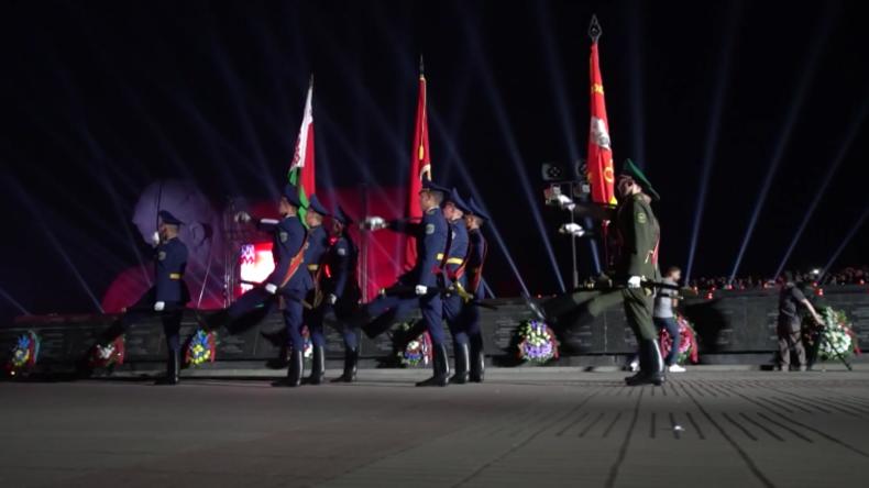 Weißrussland: Gedenkveranstaltung am 78. Jahrestag des Überfalls auf die Sowjetunion