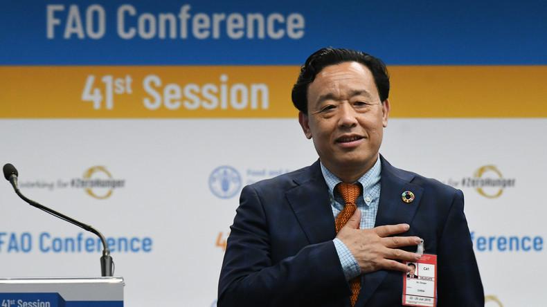 Chinas Vize-Landwirtschaftsminister wird neuer Chef der UN-Ernährungsorganisation