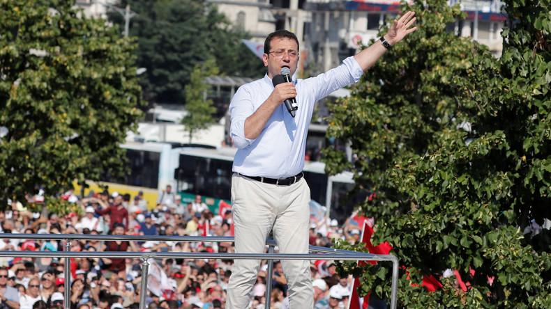 Istanbul: Oppositionspolitiker Imamoğlu liegt deutlich vor AKP-Kandidat
